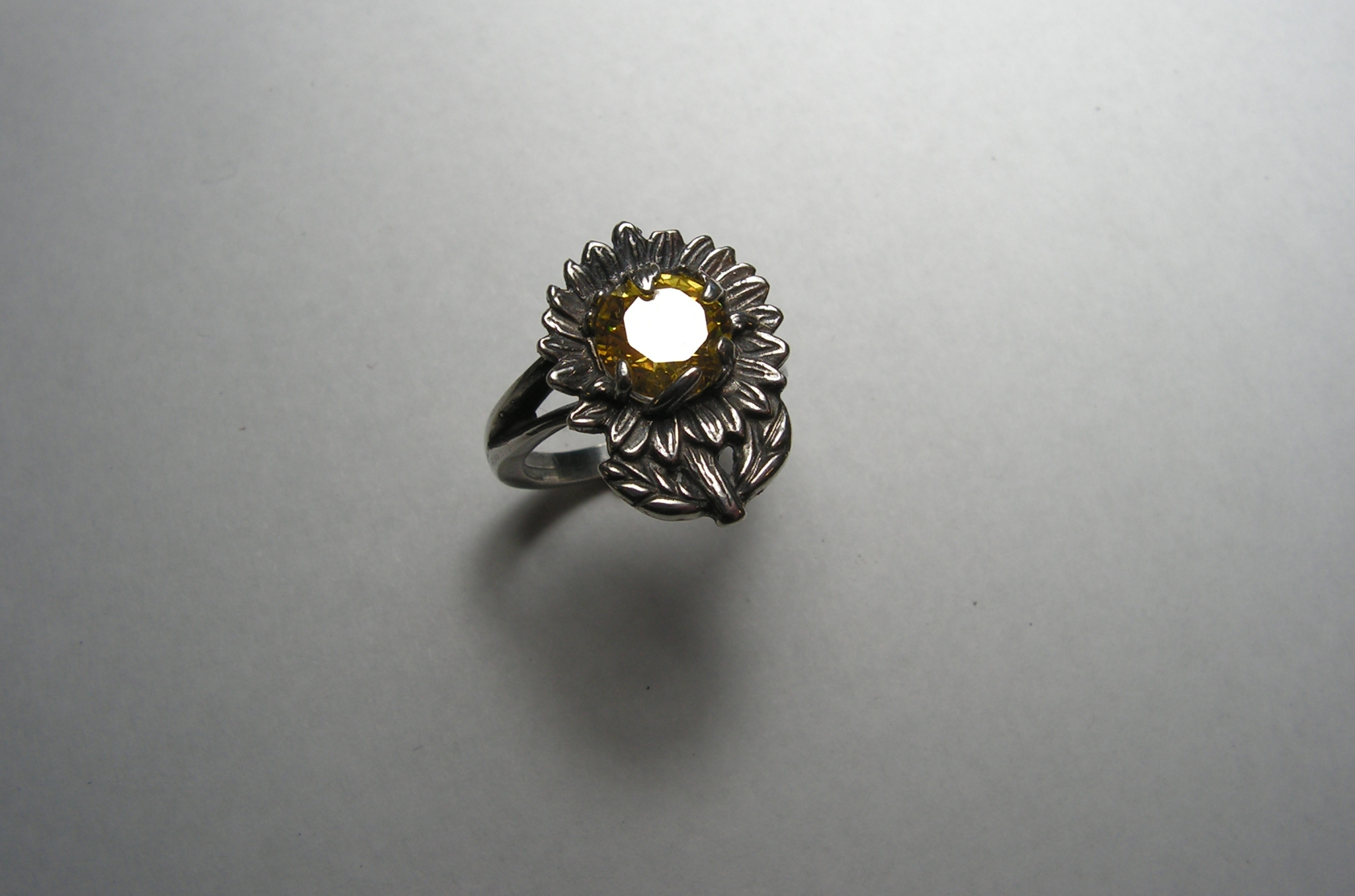 57f467f3b Sterling Silver Sunflower Ring With Citrine $35.00. KONICA MINOLTA DIGITAL  CAMERA. KONICA MINOLTA DIGITAL CAMERA ...